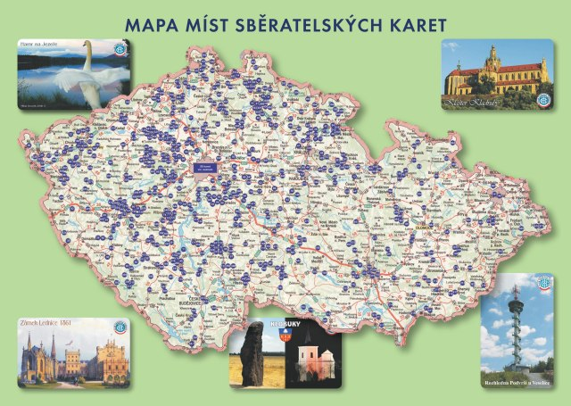 Mapa - skládačka