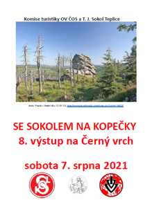 SE SOKOLEM NA KOPEČKY 8. výstup na Černý vrch